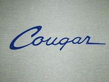 Mercury COUGAR Script badge emblem Wall Sign