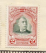 El Salvador 1896 Early Issue Fine Mint Hinged 2c. 143409