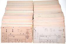 Funke W18 W16 RPG3/4 Röhrenprüfgerät Kartensatz Prüfkarten Röhre tube Tubetester