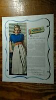 Beautiful Joan Bennet in 1938 Wrigley's Double Mint Chewing Gum Advertisement