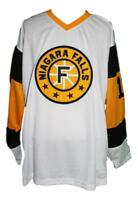 Any Name Number Size Niagara Falls Flyers Retro Hockey Jersey White