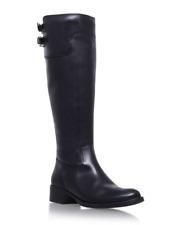 Carvela Kurt Geiger Weather Womens UK 3 EU 36 Black Leather Knee High Tall Boots