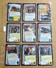 THE X-FILES PREMIERE EDITION CCG/TCG SLEEVE OF 9 x COMMON CARDS  NEW/1996  (D)