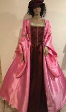 Tudor Renaissance Medieval Anne Boleyn Dress Gown & Hat, Your Size Choice