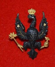 British Army. 14th/20th King's Hussars Genuine Officer's Cap Badge