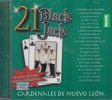 Los Cardenales de Nuevo Leon 21 Black Jack CD New Nuevo