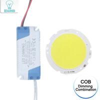 1Set Dimmer Plastic Led Driver+COB Bulb Chip for DIY Light Lamp Home Living