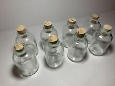 Clear Glass Apothecary Bottles /Corks