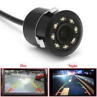 8 LED 170° CMOS Car Rear View Backup Camera Night Vision Waterproof Camera Acces