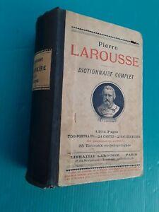 Dictionnaire Complet Illustré, Pierre Larousse, 1899, 102e Edition