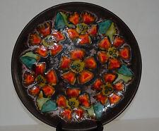 MID CENTURY RUSCHA FAT LAVA ABSTRACT  WALL PLATE