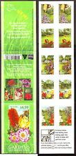 australia 2000 bookleth garden flower mnh**  self adfhesive