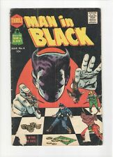 Man in Black #4 Harvey Comics 1958 VG