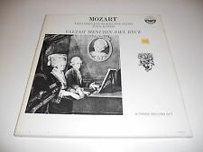 MOZART NM Yaltah Menuhin Joel Ryce 2 lps Box set complete works for piano 6168/3