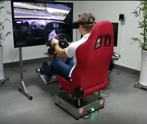 2DOF motion simulator racing simulator with stand, motion platform