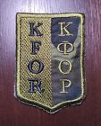 Patch KFOR Peace Force NATO Peacekeepers in Kosovo UKRAINE ARMY Ecusson Parche