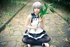Anime Cheongsam Girl's Sleelveless Tutu Dress Vocaloid Cosplay Skirt Costume