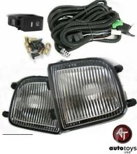 For 99-04 Nissan Pathfinder Pair Fog Lights Clear Lens Bumper Lamps Kit Wires