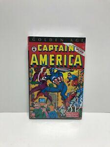 Captain America Golden Age Omnibus Volume 2 DM Variant Kirby Lee Avison Marvel