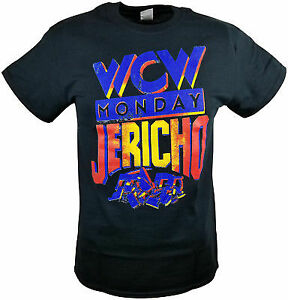 Chris Jericho WCW Monday Night Raw Jericholic Mens Black T-shirt
