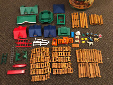 Vintage Lincoln Logs Huge Lot Of 300 Plus - Stony Brook Town