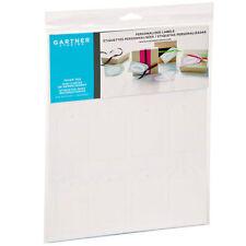 GARTNER STUDIOS Printable GIFT FAVOR TAGS - 48ct