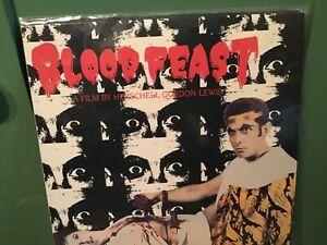 BLOOD FEAST (1963) LASERDISC 1984 HERSCHELL GORDON LEWIS SPLATTER FILM HORROR