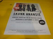 SKUNK ANANSIE - OUI FM!!!!!!!!!!!!1!FRENCH PRESS ADVERT