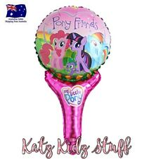 51cm My Little Pony Hand Held Foil Balloon AUS SELLER