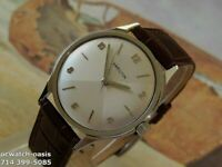 1960's Vintage HAMILTON  Manual Wind, Stunning 2 Tone Silver Dial, Serviced