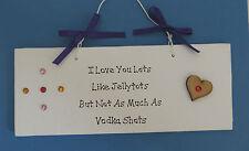 I Love You Lots comme Jelly Tots-Petite Amie Cadeau Petit-Ami Cadeau-Nouveauté