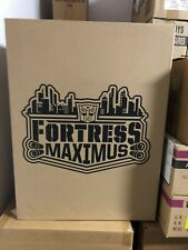 authentic real Transformers SDCC 2016 Fortress Maximus Titans Return new SEALED