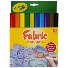 Crayola Tela marcadores 10-pack