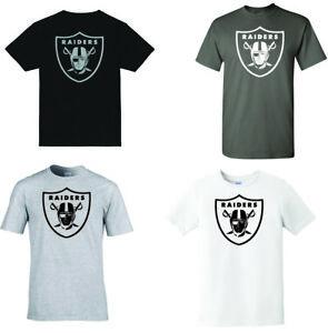 Raiders T-shirt - Vinyl designs - Color options!!! MIX AND MATCH!