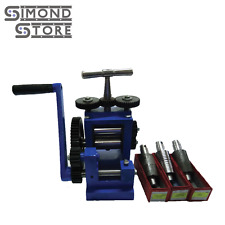 3'' (80mm) Rolling Mill Machine with 5 Roller Jewellery Tool