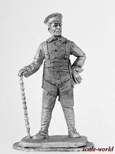 """Tin toy soldier, miniature. Commander of the Squadron """"Richthofen"""", 1918 54 mm"""