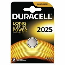 1 x DURACELL CR2025 DL2025 BR2025 a bottone al litio 3 V Pulsante Batteria Originale