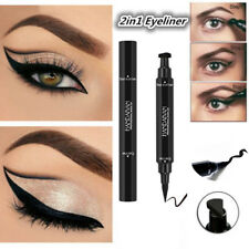 Waterproof Eyeliner&Stamp Liquid Eye Liner Pen Pencil Makeup Beauty Cosmetic Pro