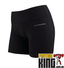 RUNNING BARE CHRISSIE SPORT TIGHT SIZE 10 BLACK SHORTS WOMENS FITNESS CLOTHING