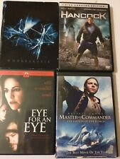 Action Movie Dvd Bundle w/ Hancock, Eye For An Eye, Master And Commander, &