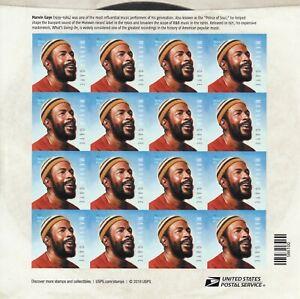 MARVIN GAYE STAMP SHEET -- USA #5371 FOREVER 2019 MUSIC