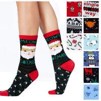 Charter Club NEW Women's Holiday Season Christmas Crew Neck Socks