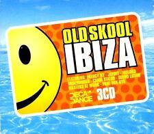 "OLDSKOOL IBIZA - 3 X CDS 30 FULL 12"" UNMIXED TRACKS !! TRANCE HOUSE CDJ CD DJ"