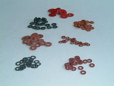 M3 Fibre Washers- Choose from 9 sizes, various quantities available