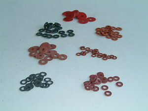 M4 Fibre Washers- Choose from 21 sizes, various quantities available