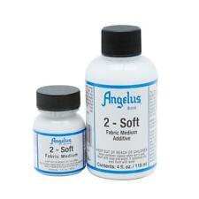 Angelus 2-Soft Fabric Medium Additive For Acrylic Paint 4oz