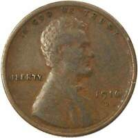 1916 D 1c Lincoln Wheat Cent Penny US Coin VF Very Fine