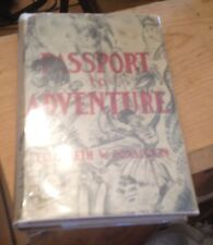 Passport to Adventure 1939 TRAVELOGUE into the EXOTIC Donaldson FREE US SHIPPING