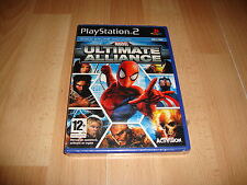 MARVEL ULTIMATE ALLIANCE 1 RPG DE ACTIVISION PARA LA SONY PS2 NUEVO PRECINTADO