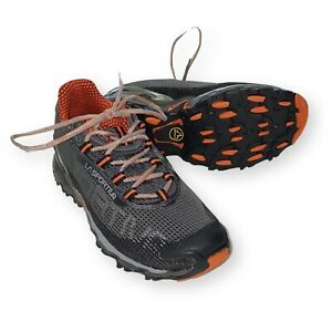 La Sportiva Men's Wildcat Shoe Carbon/Flame Orange Multiple Sizes